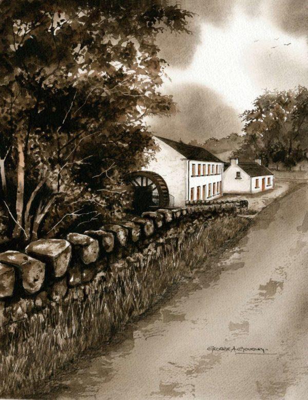 Wellbrook Mill Print