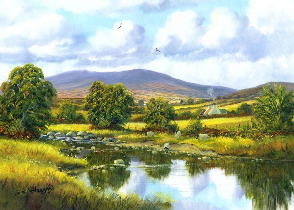 Sperrins Near Omagh Print (0051)