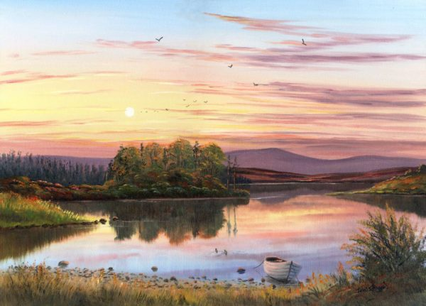 Lough Fea Print (0060)