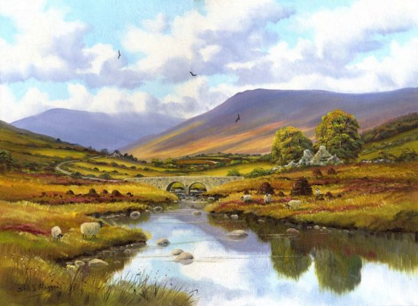 Sheep In The Glenelly Print (0078)