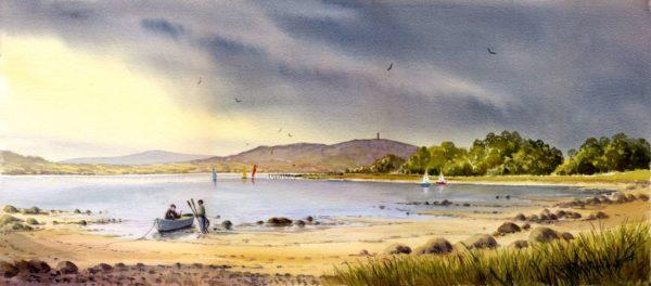 Strangford Lough Print (0087)