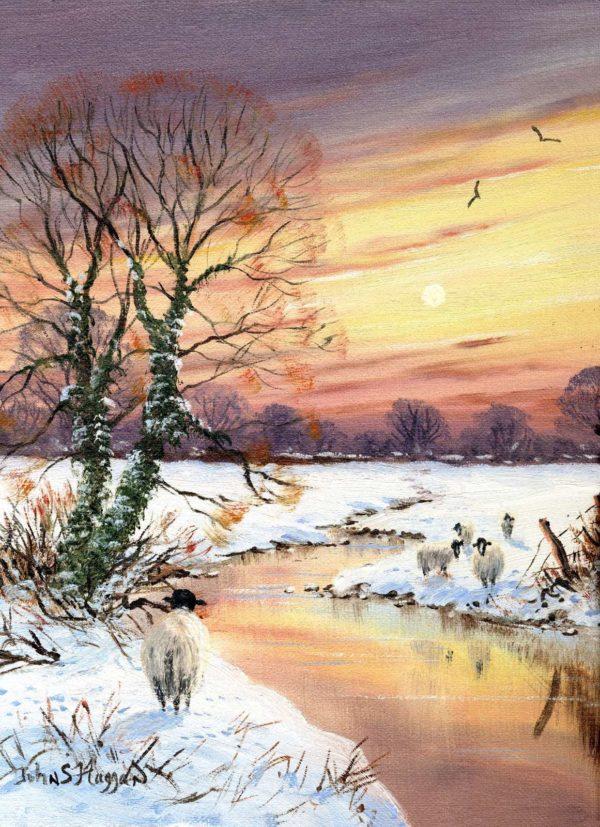 Snow Gortin Water Print (0106)