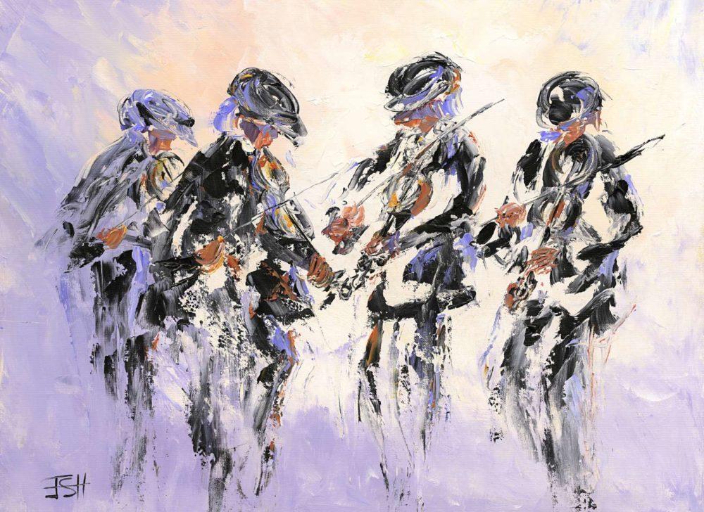 Fiddlers Four Print (0124)