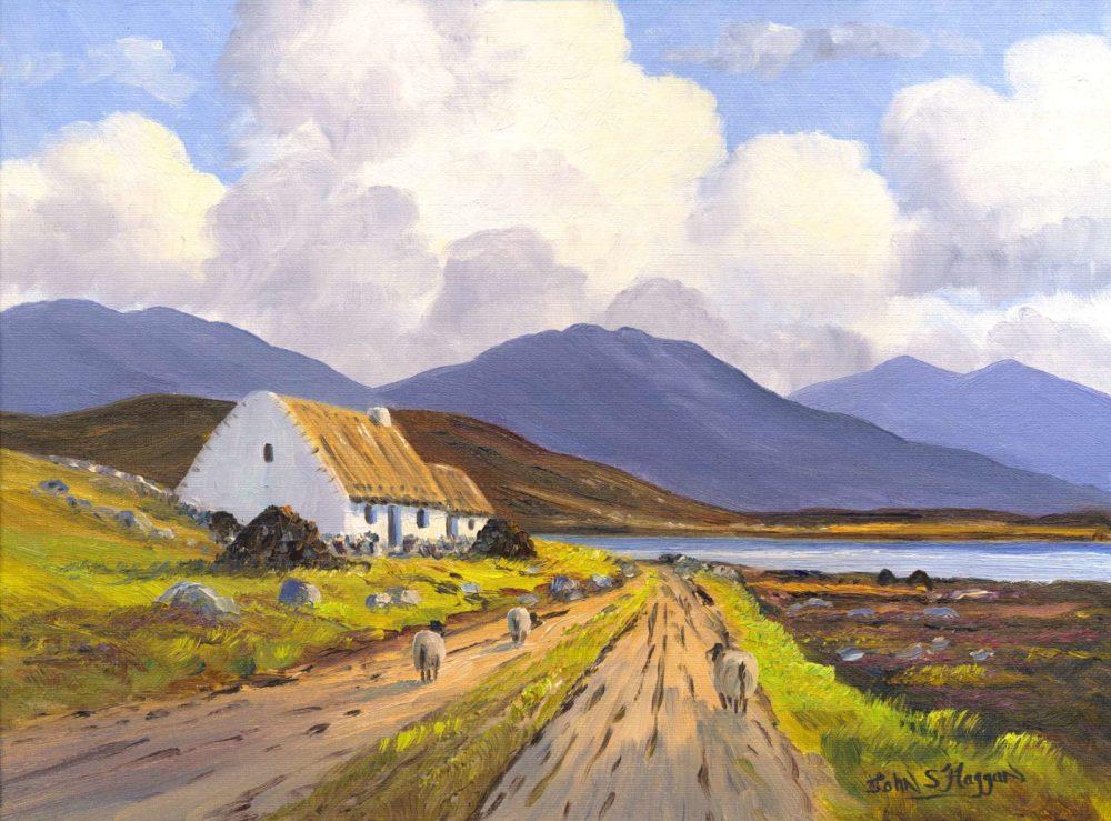 Connemara Cottage Print (0161)