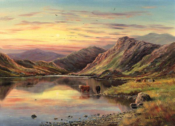 Highland Cattle Print (0179)