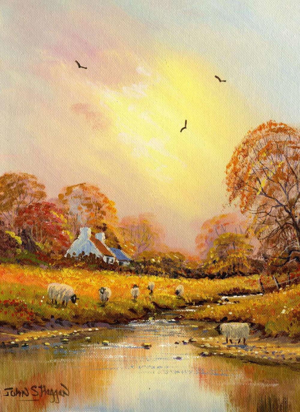 Autumn Stream Print (019)
