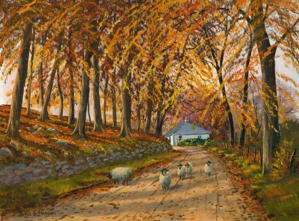 Autumn At Wellbrook Print (0192)