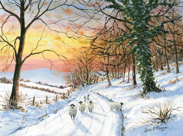 Winter Road Print (0194)