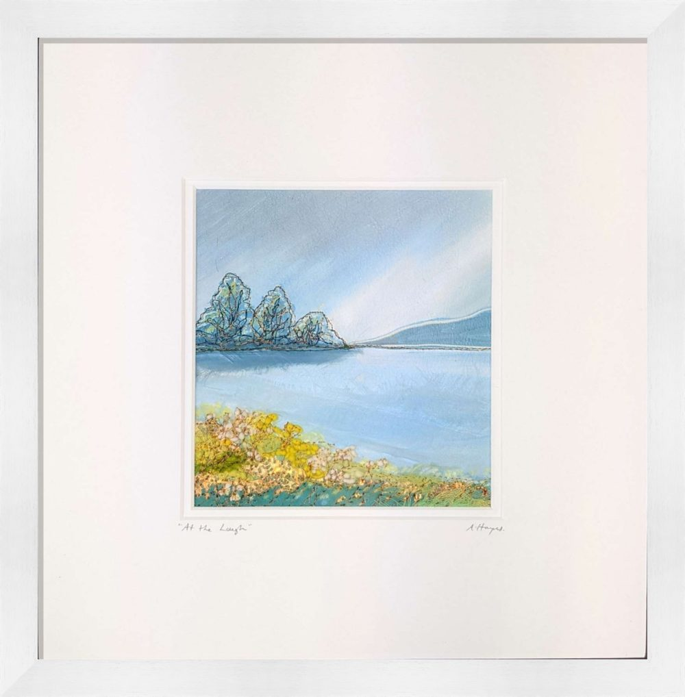 At The Lough in White Frame