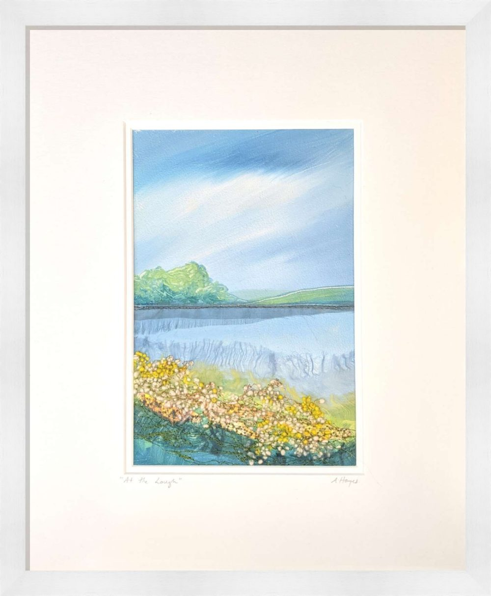 At The Lough II in White Frame
