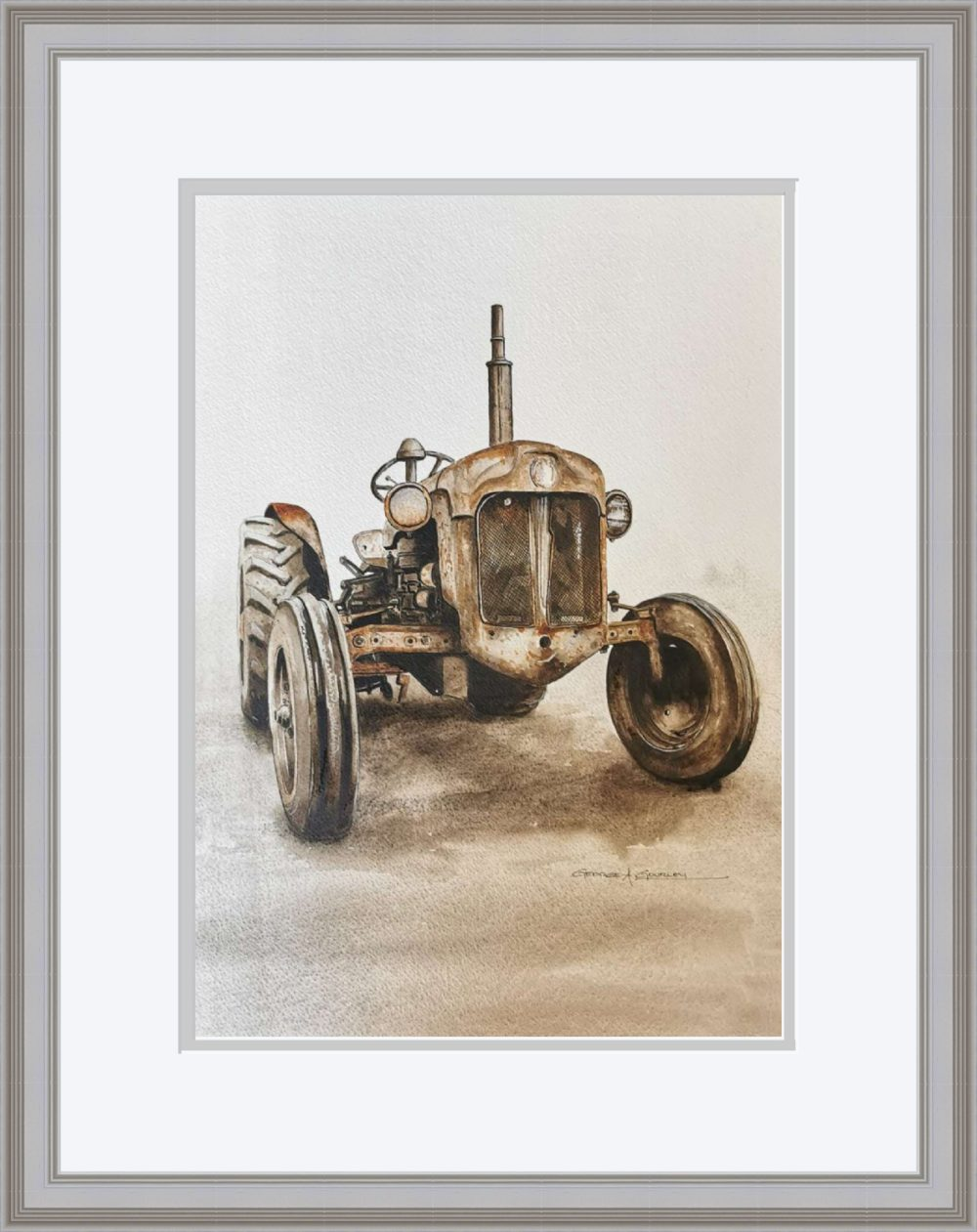Going Strong in Grey Frame