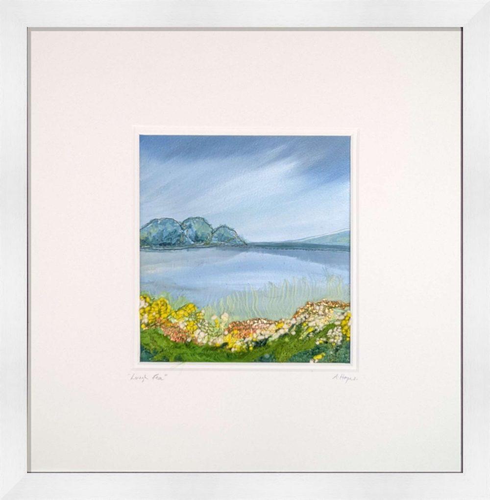 Lough Fea in White Frame