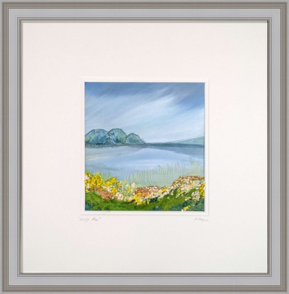 Lough Fea in Grey Frame