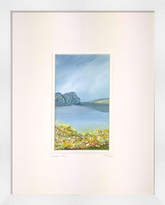 Lough Fea II in White Frame