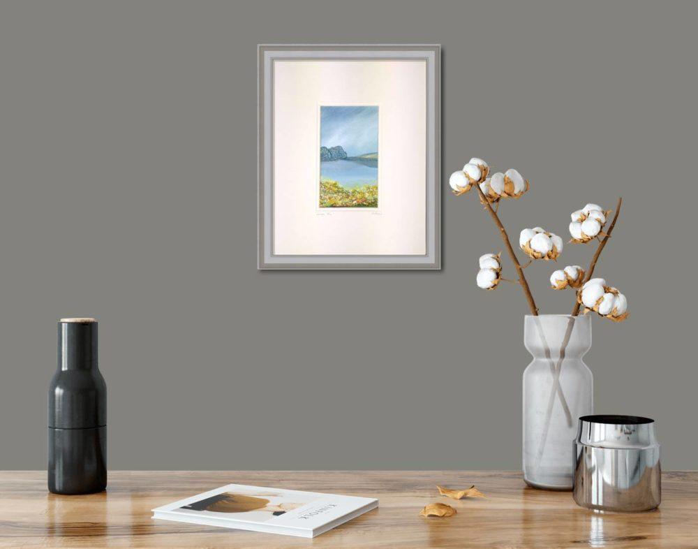 Lough Fea II in Grey Frame in Room