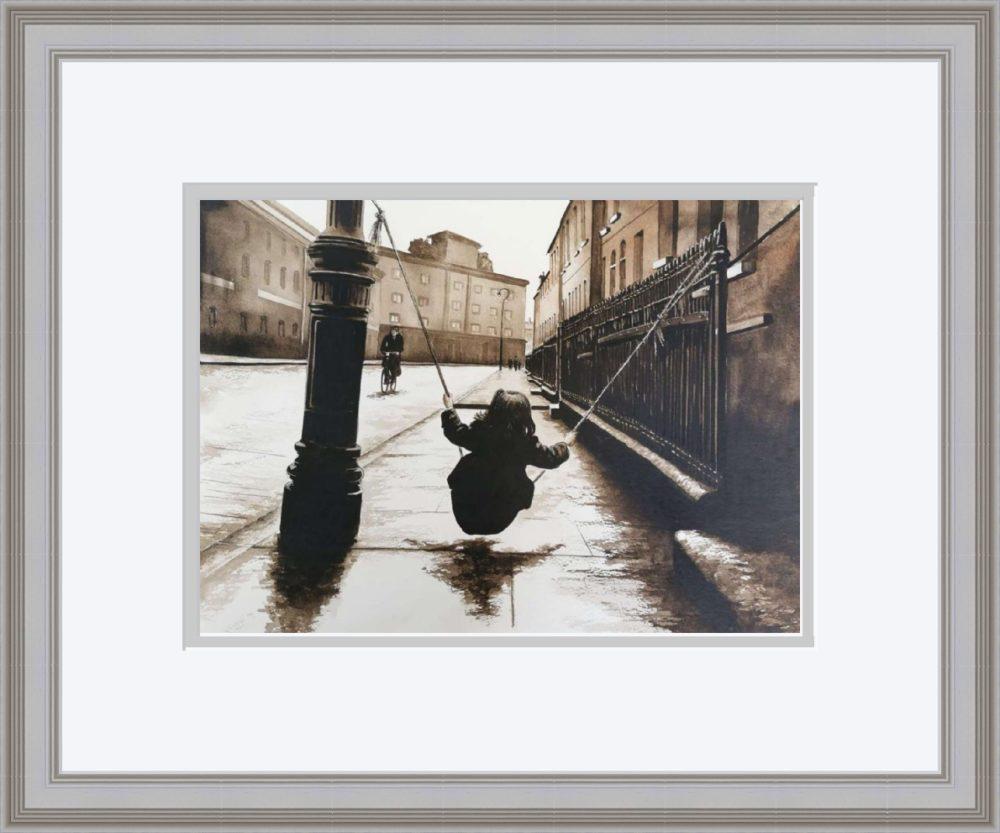 Street Games in Grey Frame