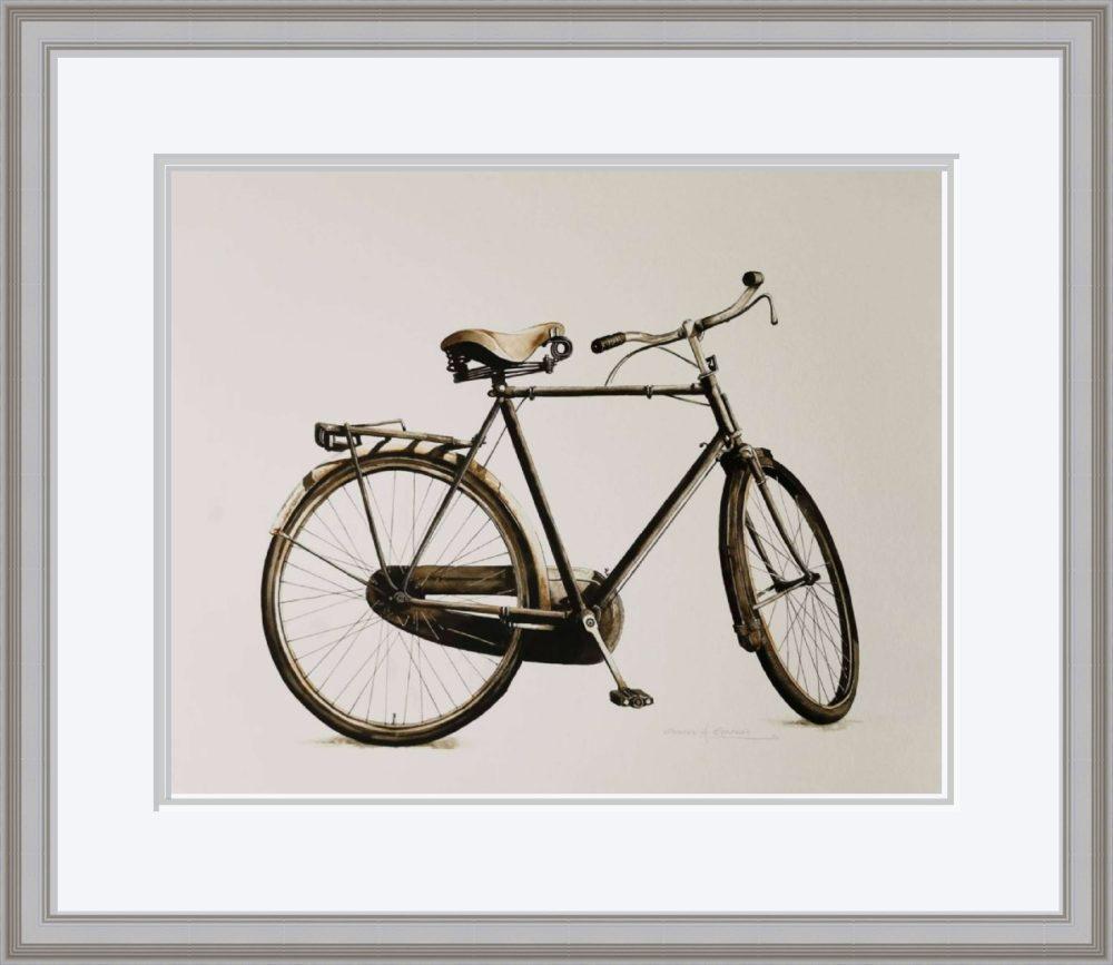 The Bike in Grey Frame