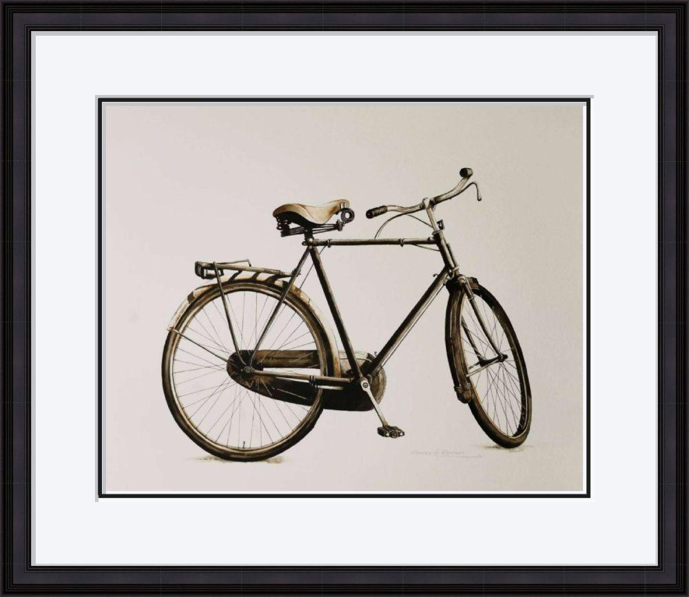 The Bike in Black Frame
