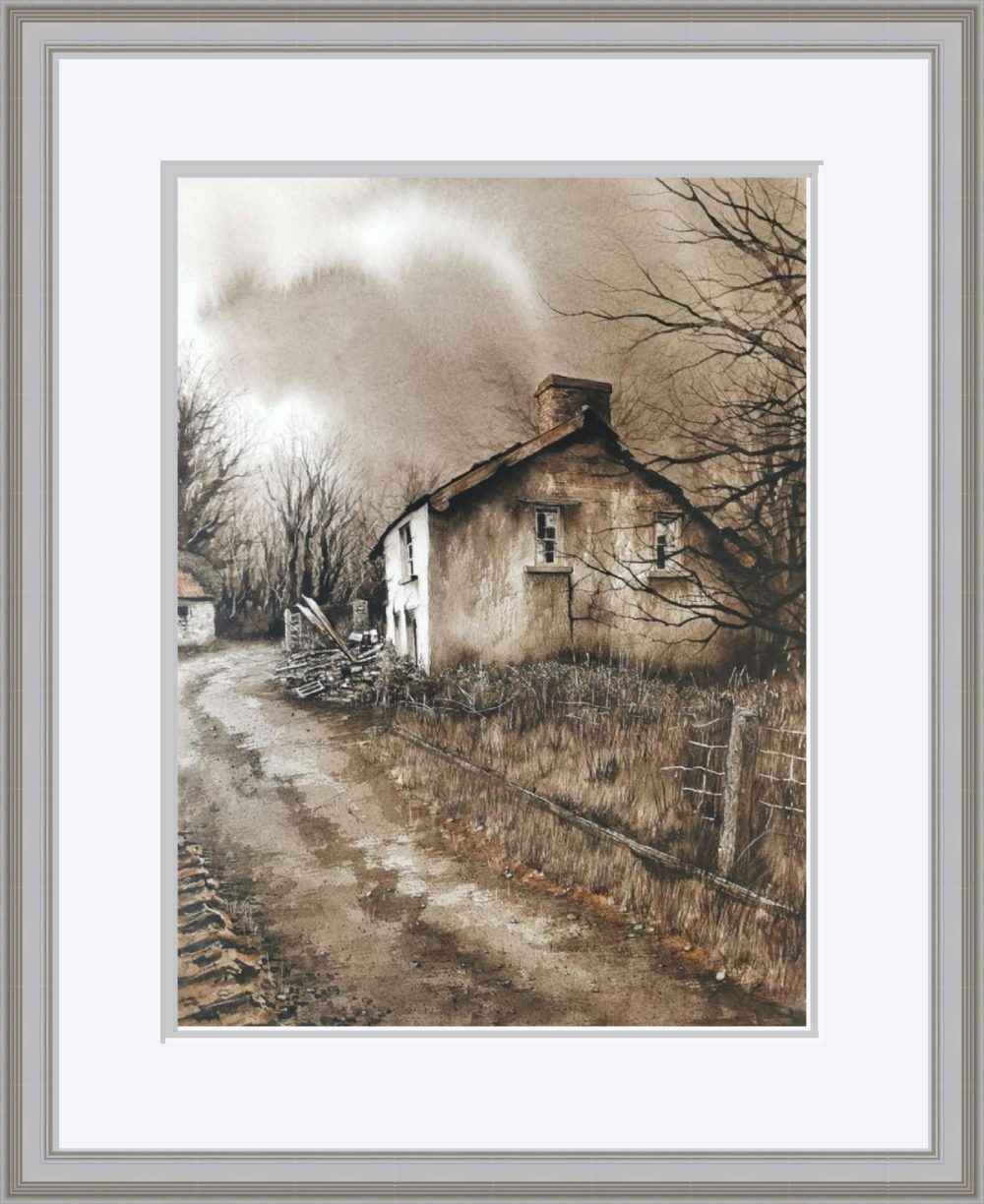 The Old Place II in Grey Frame