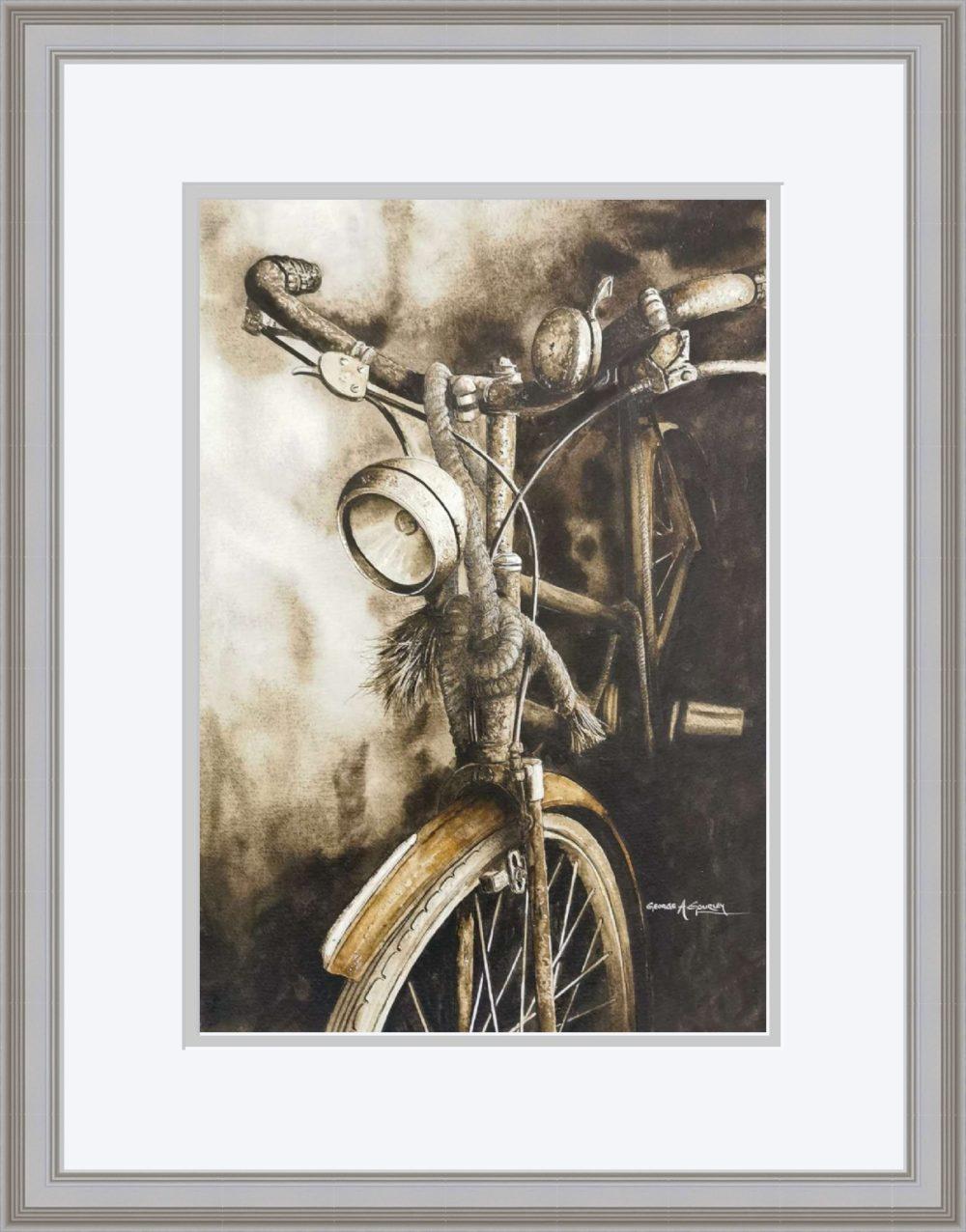 The Old Timer in Grey Frame