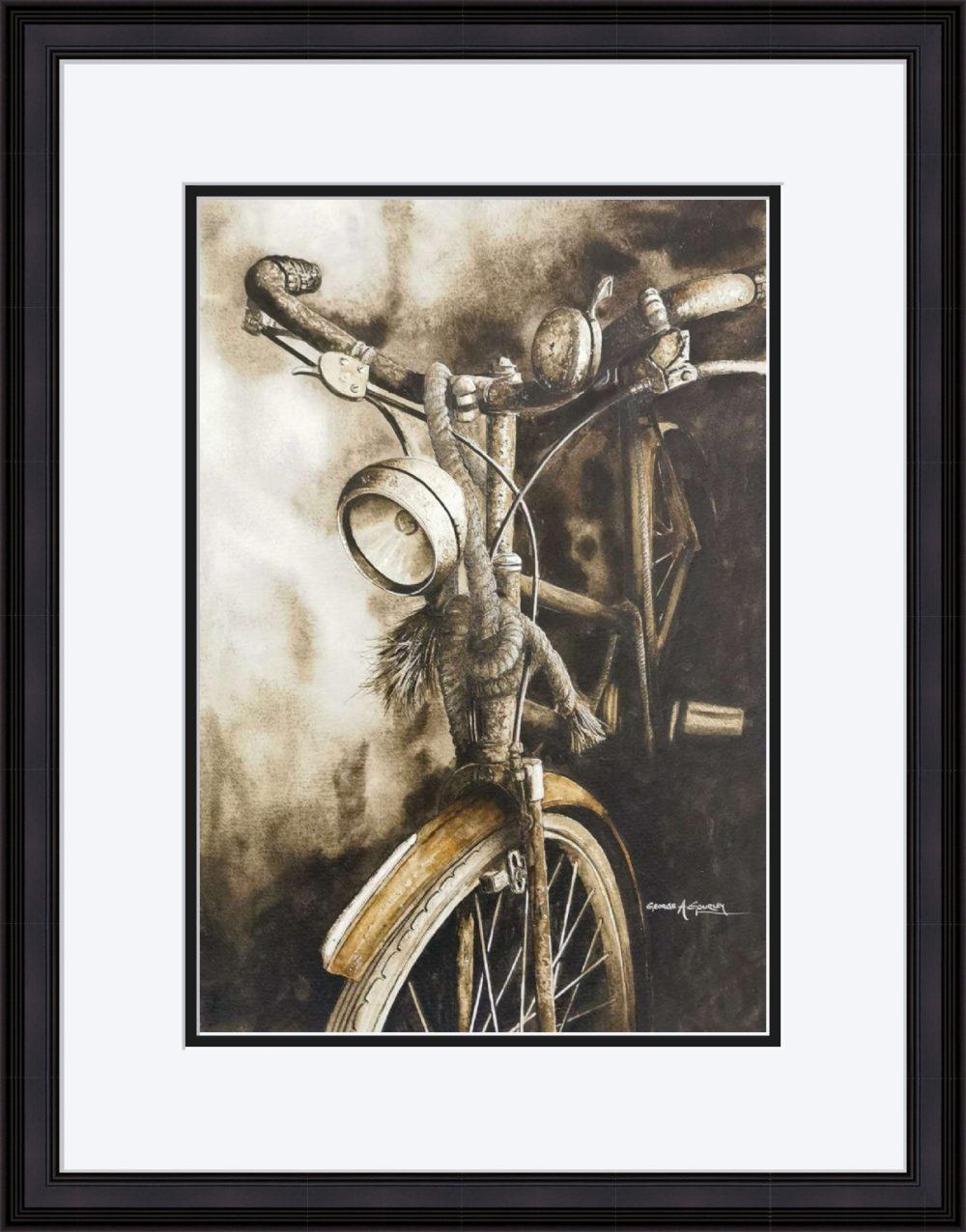 The Old Timer in Black Frame
