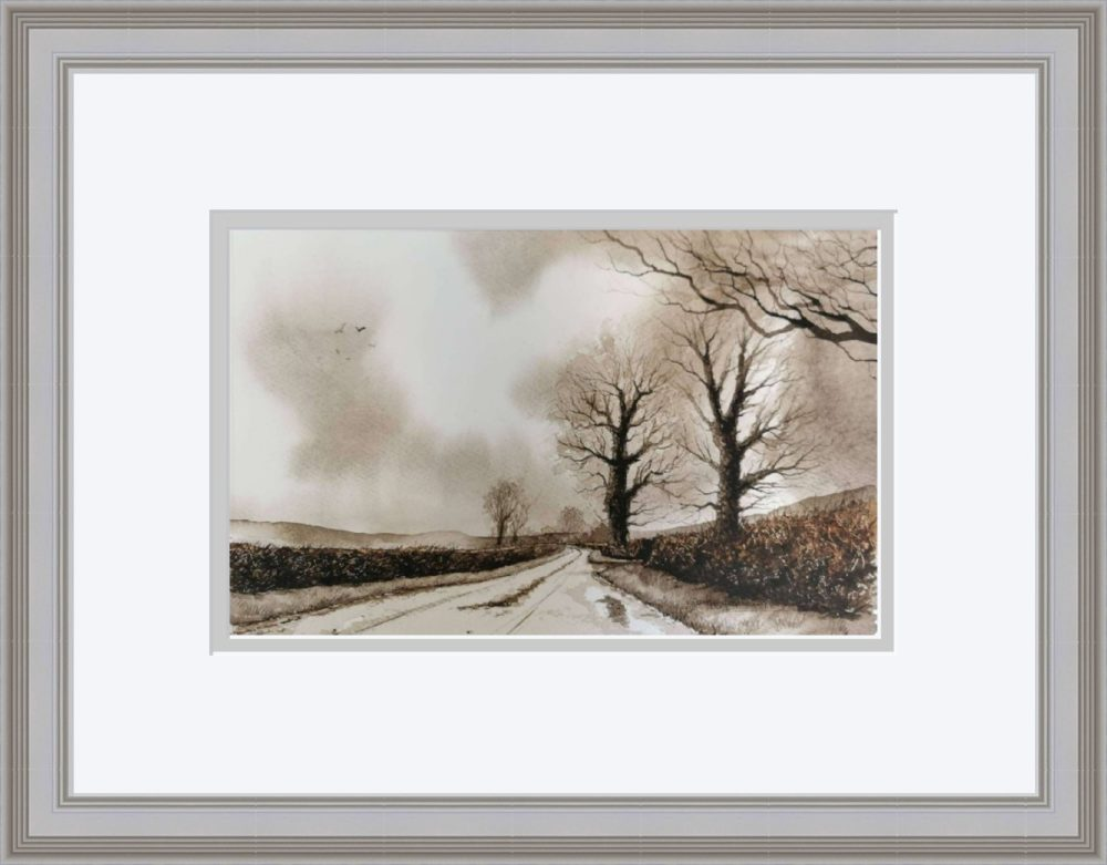 The Road Home in Grey Frame