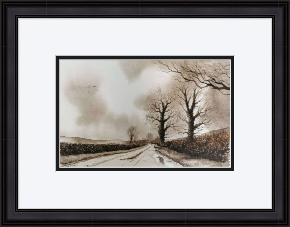The Road Home in Black Frame