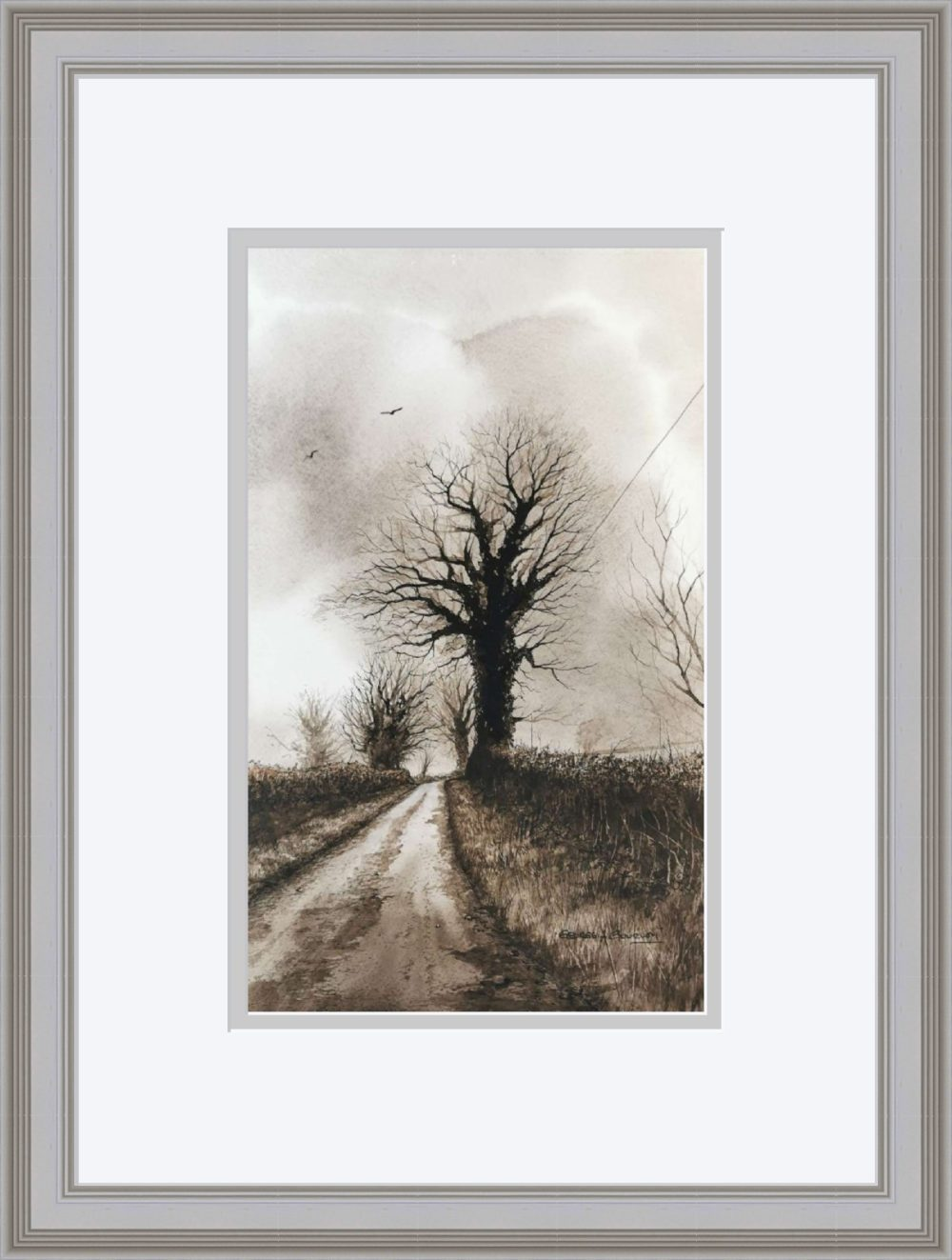 Up The Lane in Grey Frame