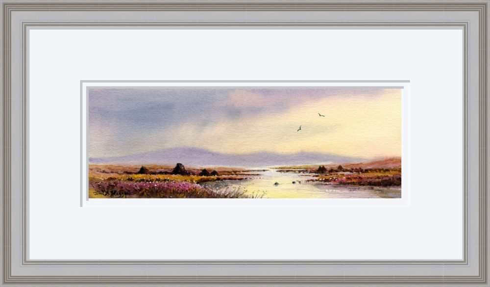 After The Storm Connemara Print in Grey Frame