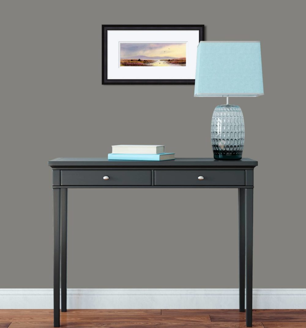 After The Storm Connemara Print in Black Frame in Room