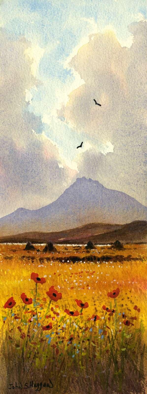 Connemara Poppies Print (LNG009)