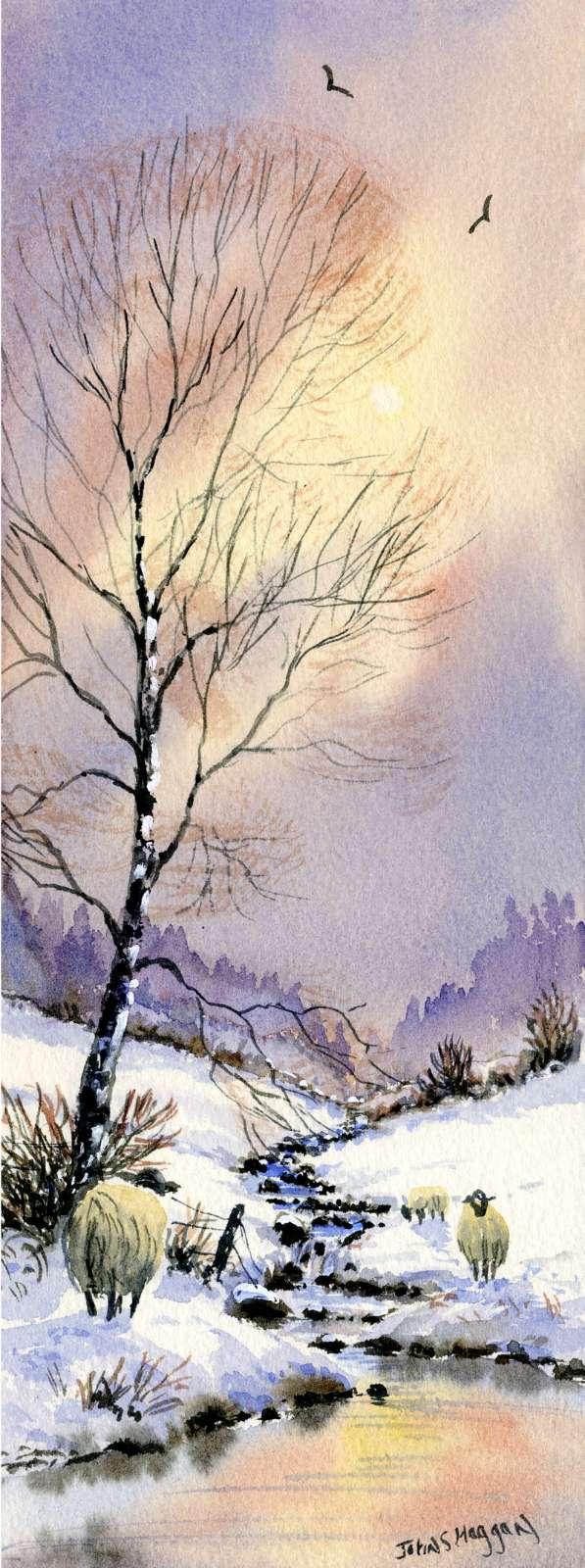 Early Snow Print (LNG015)