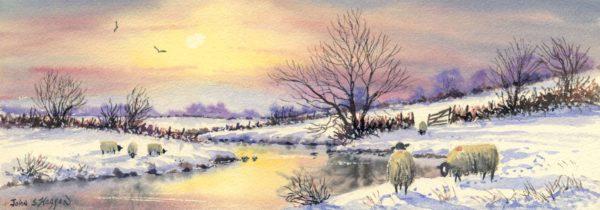 Winter Sun Print (LNG016)