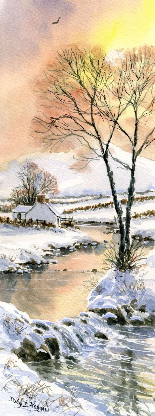 Winter Stream Print (LNG052)